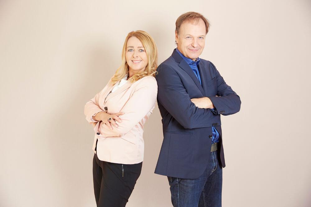 Simonis Servicekultur Kollegen Umberta Andrea Simonis und Stefan Grassmann
