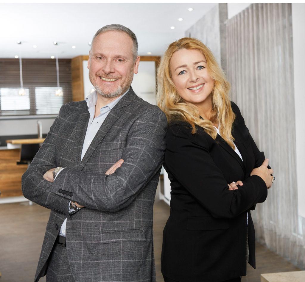 Umberta Andrea Simonis mit Kollege Thomas